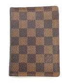 ()の古着「パスポートケース」 ブラウン