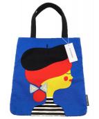 marimekko(マリメッコ)の古着「トートバッグ」|ブルー