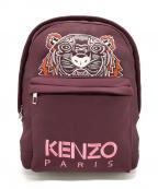KENZO(ケンゾー)の古着「リュック」|ワインレッド