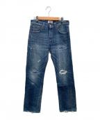 LEVI'S(リーバイス)の古着「デニムパンツ」|ネイビー