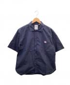 DANTON(ダントン)の古着「ワークシャツ」|ネイビー