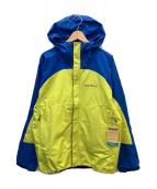 ()の古着「サンダーパスジャケット」 ブルー×イエロー