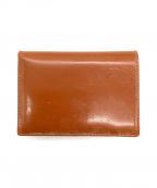 Whitehouse Cox(ホワイトハウスコックス)の古着「2つ折り財布」|ブラウン
