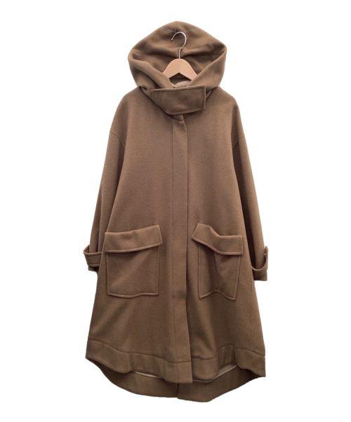 Emma Taylor(エマテイラー)Emma Taylor (エマテイラー) ウールコート ブラウン サイズ:38の古着・服飾アイテム