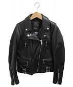 MAISON DE REEFUR(メゾンドリーファー)の古着「ライダースジャケット」|ブラック