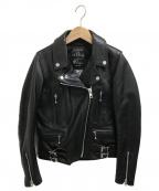 MAISON DE REEFUR(メゾン ド リーファー)の古着「ライダースジャケット」|ブラック