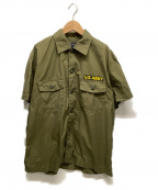 BUZZ RICKSON'S(バズリクソンズ)の古着「ベトナムシャツ」 グリーン