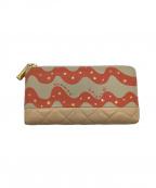 tsumori chisato(ツモリチサト)の古着「長財布」|ベージュ×ピンク
