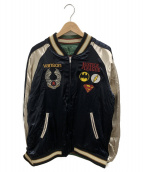 VANSON(バンソン)の古着「スカジャン」|ブラック