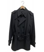 BURBERRY BLACK LABEL(バーバリーブラックレーベル)の古着「トレンチコート」|ブラック
