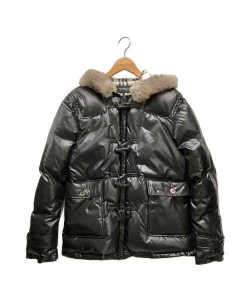 BURBERRY BLACK LABEL(バーバリーブラックレーベル)BURBERRY BLACK LABEL (バーバリーブラックレーベル) ダウンジャケット ブラック サイズ:Lの古着・服飾アイテム