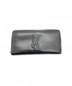 Yves Saint Laurent(イヴサンローラン)の古着「長財布」 ブラック
