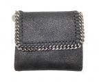 STELLA McCARTNEY(ステラマッカートニー)の古着「2つ折り財布」|ブラック