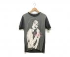 ()の古着「Tシャツ」|グレー×ブラック