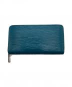 LOUIS VUITTON(ルイ ヴィトン)の古着「長財布」|ターコイズブルー