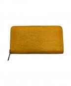 LOUIS VUITTON(ルイ ヴィトン)の古着「長財布」|イエロー