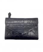 Samantha Thavasa LAPLUME(サマンサタバサ ラプリュム)の古着「2つ折り財布」|ネイビー