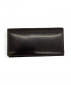 GANZO(ガンゾ)の古着「コードバン長財布」 ダークブラウン