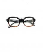 DITA(ディータ)の古着「伊達眼鏡」|ブラック×ブラウン