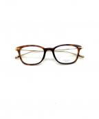 OLIVER PEOPLES(オリバーピープルズ)の古着「伊達眼鏡」 ブラウン