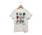 COMME des GARCONS(コムデギャルソン)の古着「Tシャツ」 ホワイト