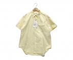 ()の古着「ボタンダウンシャツ」|イエロー