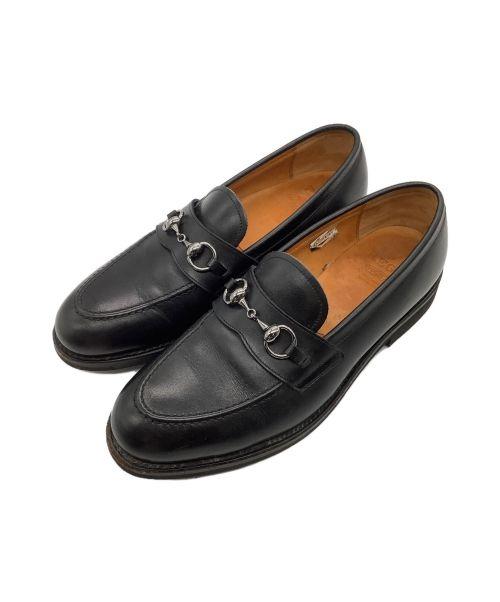 REGAL GEOX(リーガルジェオックス)REGAL GEOX (リーガルジェオックス) ビットローファー ブラック サイズ:25.5の古着・服飾アイテム