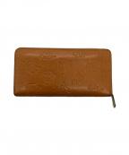 SAMANTHA KINGZ(サマンサキングス)の古着「ラウンドファスナー財布」|ブラウン