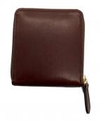 MASTER SLOW AND COMPANY(マスタースロウアンドカンパニー)の古着「2つ折り財布」|ブラウン