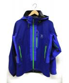 HAGLOFS(ホグロフス)の古着「クロワールジャケット」|ブルー×グリーン