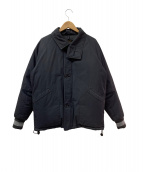 Varde77(バルデセブンティセブン)の古着「ダウンジャケット」|ブラック