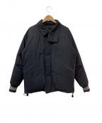 Varde77(バルデセブンティセブン)の古着「ダウンジャケット」 ブラック