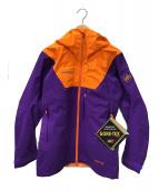 MAMMUT(マムート)の古着「マウンテンパーカー」|オレンジ×パープル