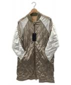 J.S HOMESTEAD(ジャーナルスタンダードホームステッド)の古着「スーベニアオールコート」|グレー×ホワイト