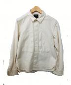 SNOWPEAK(スノーピーク)の古着「オカヤマオックスシャツ」 ベージュ