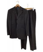 BURBERRY BLACK LABEL(バーバリーブラックレーベル)の古着「3ピースセットアップスーツ」|ブラック