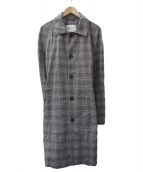 PALTO(パルト)の古着「コットンバルカラーコート」 グレー