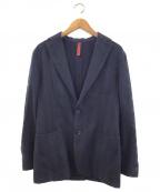ernesto(エルネスト)の古着「テーラードジャケット」|ネイビー×ブラック