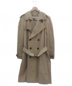 BURBERRY PRORSUM(バーバリープローサム)の古着「トレンチコート」|カーキ