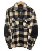 Woolrich(ウールリッチ)の古着「CPOジャケット」|ホワイト×ブラック