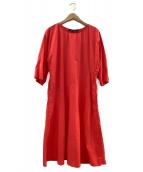 SOFIE DHOORE(ソフィードール)の古着「ブラウスワンピース」|オレンジ