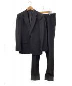 ck Calvin Klein(シーケーカルバンクライン)の古着「1Bスーツ」|ブラック