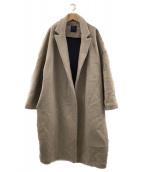 GALLEGO DESPORTES(ギャレゴデスポート)の古着「オーバーコート」|ベージュ