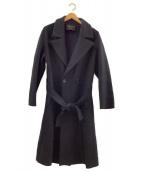23区(ニジュウサンク)の古着「ロングウールコート」|ブラック