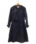 KEITA MARUYAMA(ケイタマルヤマ)の古着「トレンチコート」 ネイビー