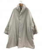 JURGEN LEHL(ヨーガンレール)の古着「ダウンコート」 ベージュ