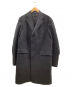 BROOKS BROTHERS(ブルックスブラザーズ)の古着「チェスターコート」|ブラック