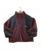 COLUMBIA BLACK LABEL(コロンビア ブラック レーベル)の古着「フリースジャケット」|ボルドー