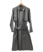 MARGARET HOWELL(マーガレットハウエル)の古着「トレンチコート」|グレー
