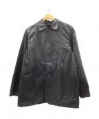 MOUNTAIN RESEARCH(マウンテンリサーチ)の古着「フラワーキャリージャケット」 ブラック